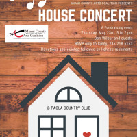Spring House Concert Event, May 23rd